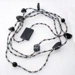 Extra Long Glass gem necklace jewellery  http://spoilmesilly.com.au/