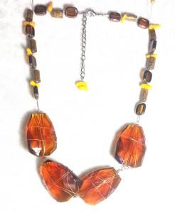 wire work necklace