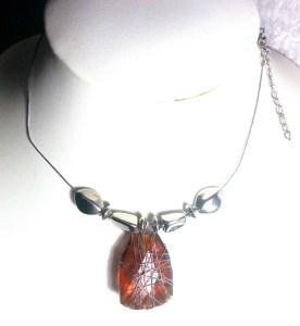 Glass necklace jewellery  http://spoilmesilly.com.au/