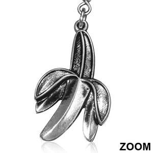 Charm Fruit Banana Earrings