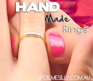 Hand Made rings