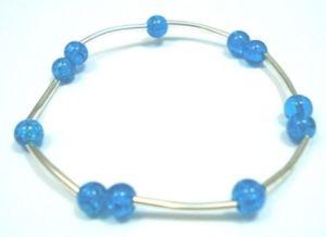 Fashion-Jewellery-Glass-Filigree-Beaded-Bracelet-Bangle-400174471356