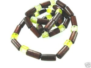 NEW-MENS-WOMENS-BEADED-WOOD-COCO-SURF-WOODEN-NECKLACE-150397303052