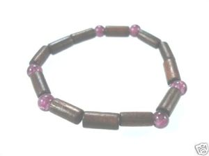 NEW-WOMENS-BEADED-WOOD-COCO-SURF-WOODEN-BRACELET-BANGLE-400091506787-2
