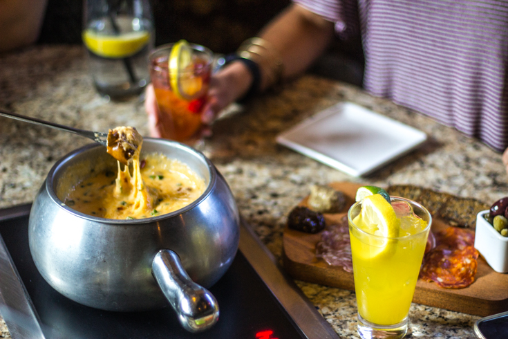THE ULTIMATE INTERACTIVE DINING EXPERIENCE – THE MELTING POT