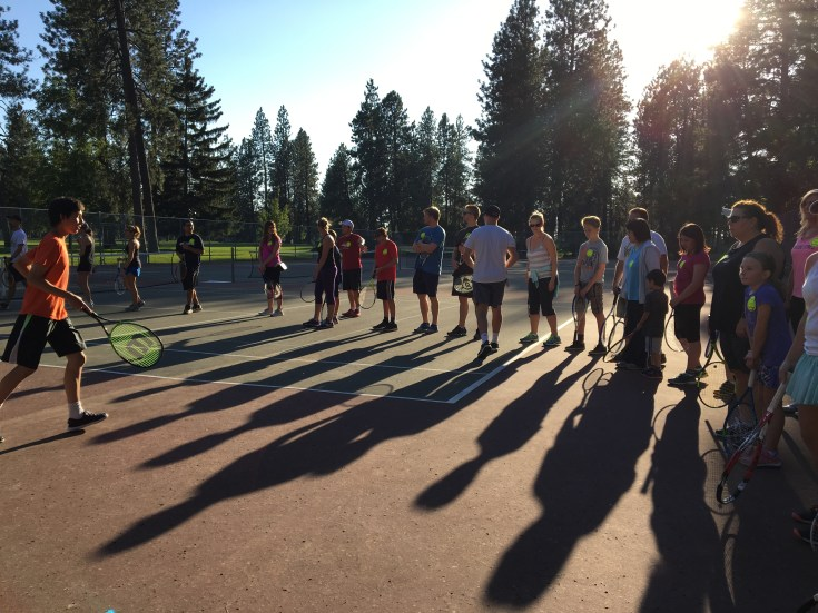Free Tennis Clinic - Spokane
