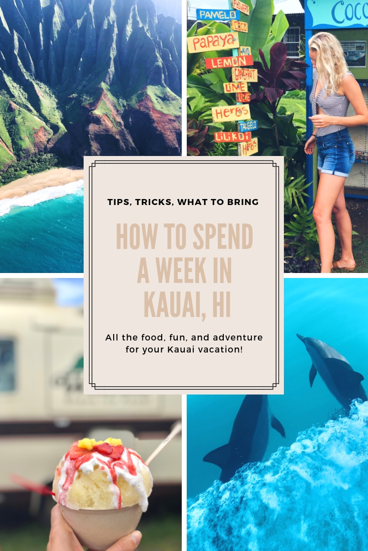 HOW TO SPEND A WEEK EXPLORING KAUAI, HAWAII