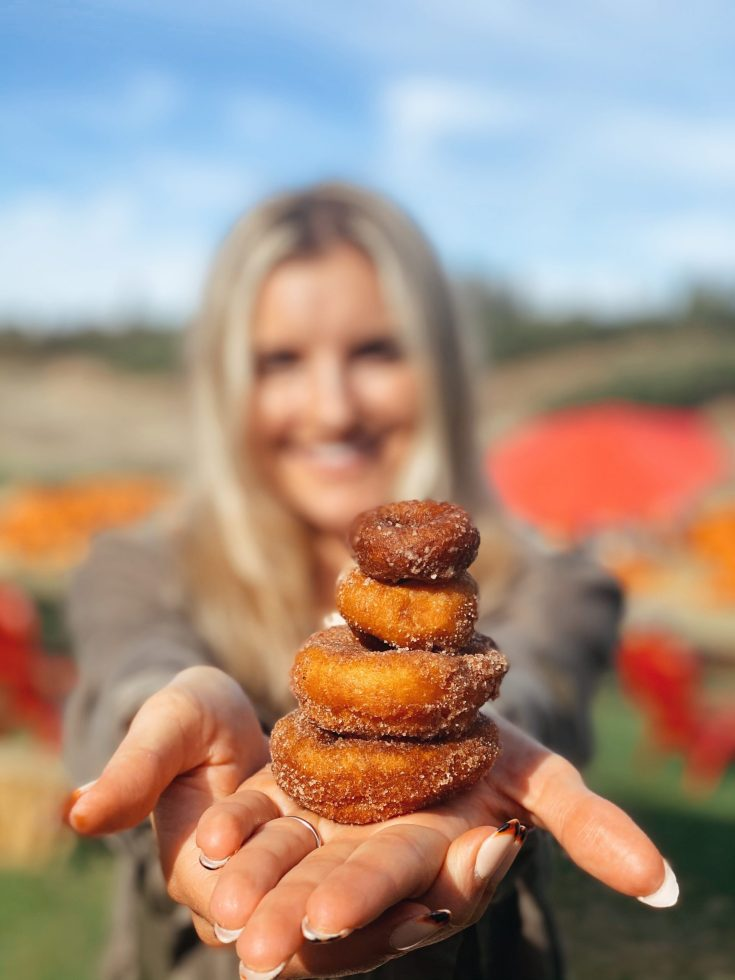 WHERE TO GET PUMPKIN DONUTS AT GREEN BLUFF