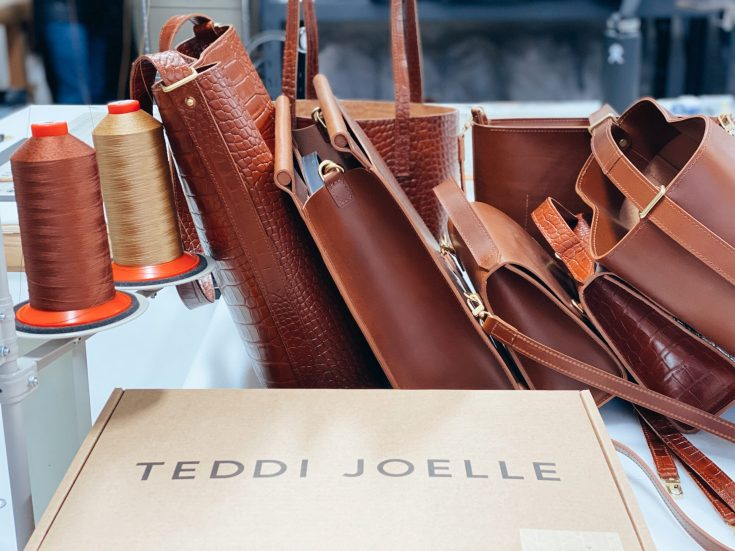 HAND-CRAFTED ITALIAN LEATHER BAGS MADE IN SPOKANE – MEET TEDDI JOELLE