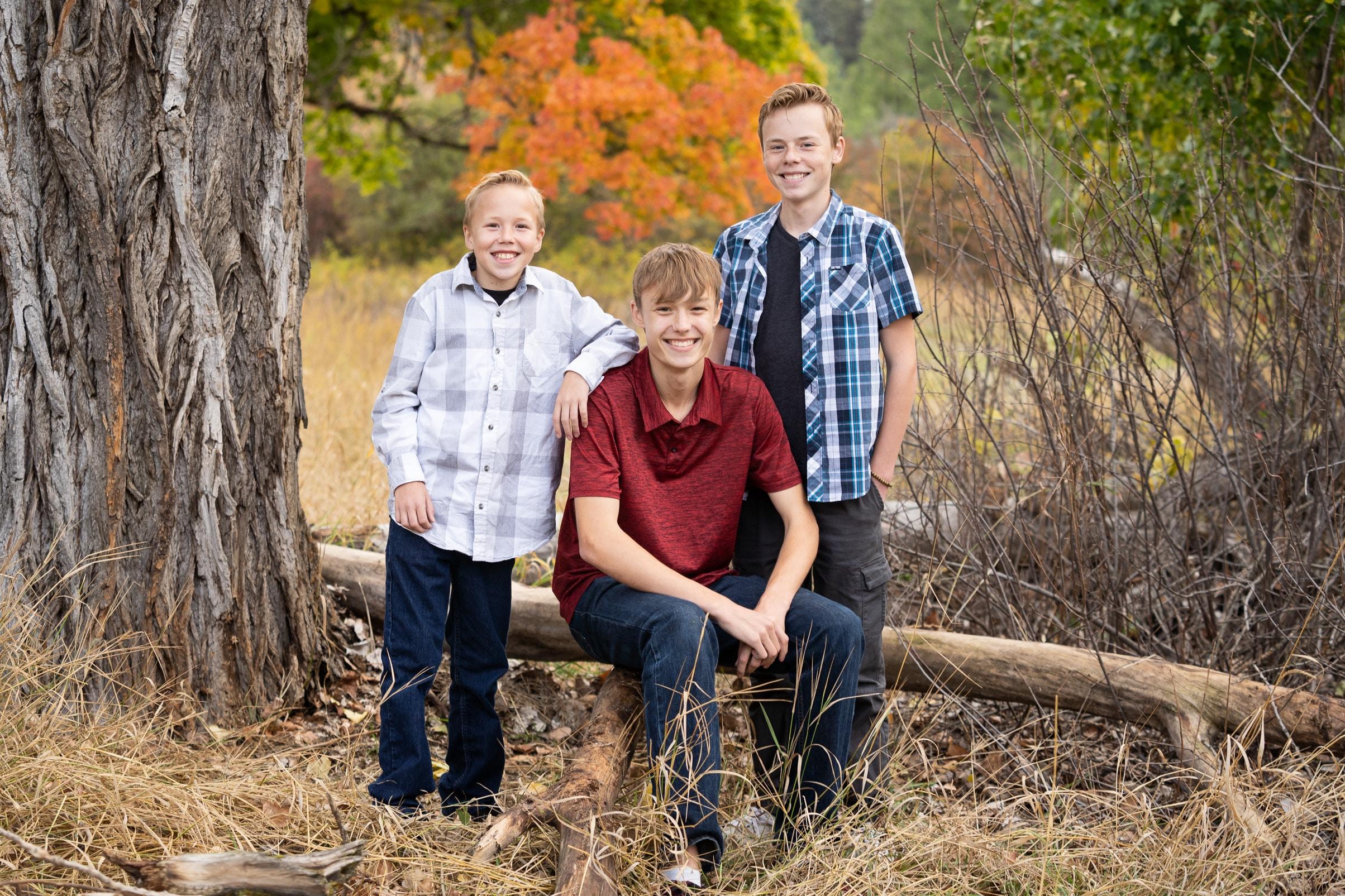 Spokane family photos session