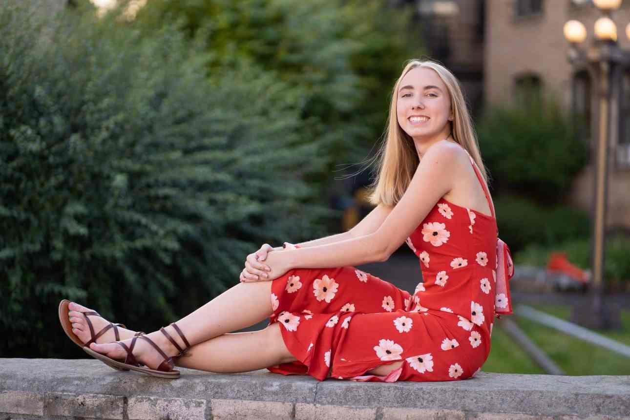 Best senior photo in spokane