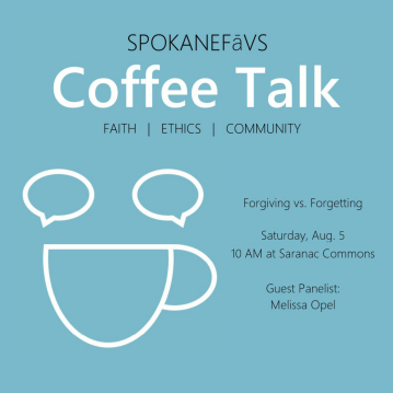 Coffee Talk: Forgiving vs. Forgetting @ Saranac Commons        