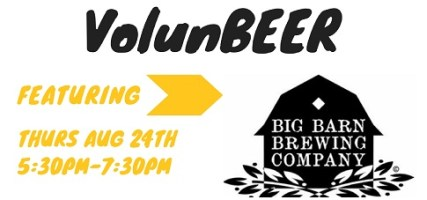 VolunBEER with Big Barn Brewing @ The Kitchen at Second Harvest | | |