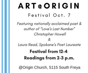 Art @ Origin Festival Oct. 7th
