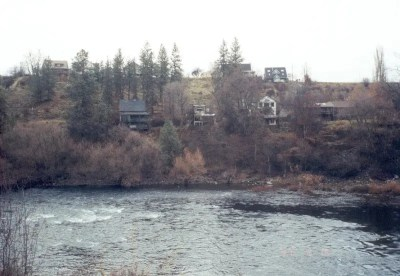 Spokane River George Shacks