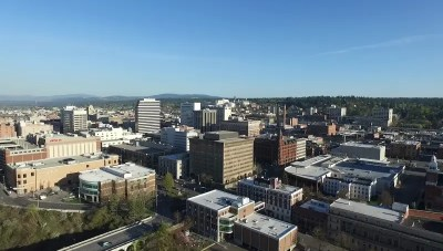 Downtown Spokane April 2016