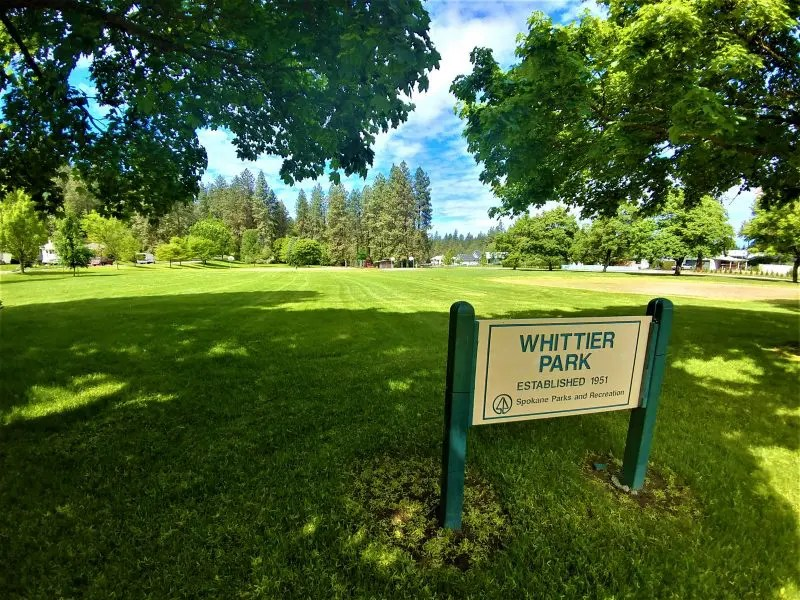 Whittier Park Spokane
