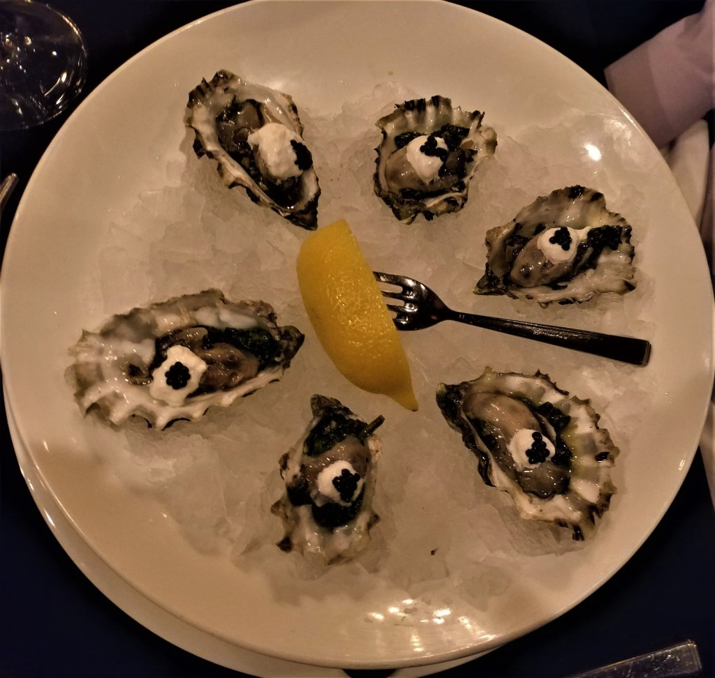 Oysters on the Half Shell Churhills Steakhouse