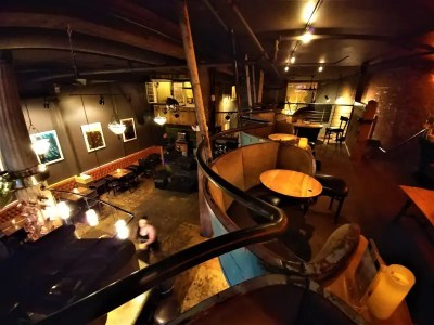 The View from Zola's Tiltawhirl Mezzanine