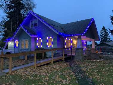 Christmas Light Installation 8