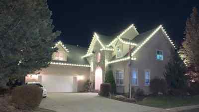 Christmas Light Installation 13