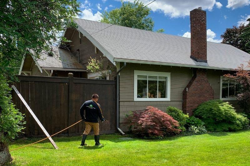 Lawn Spraying Spokane County