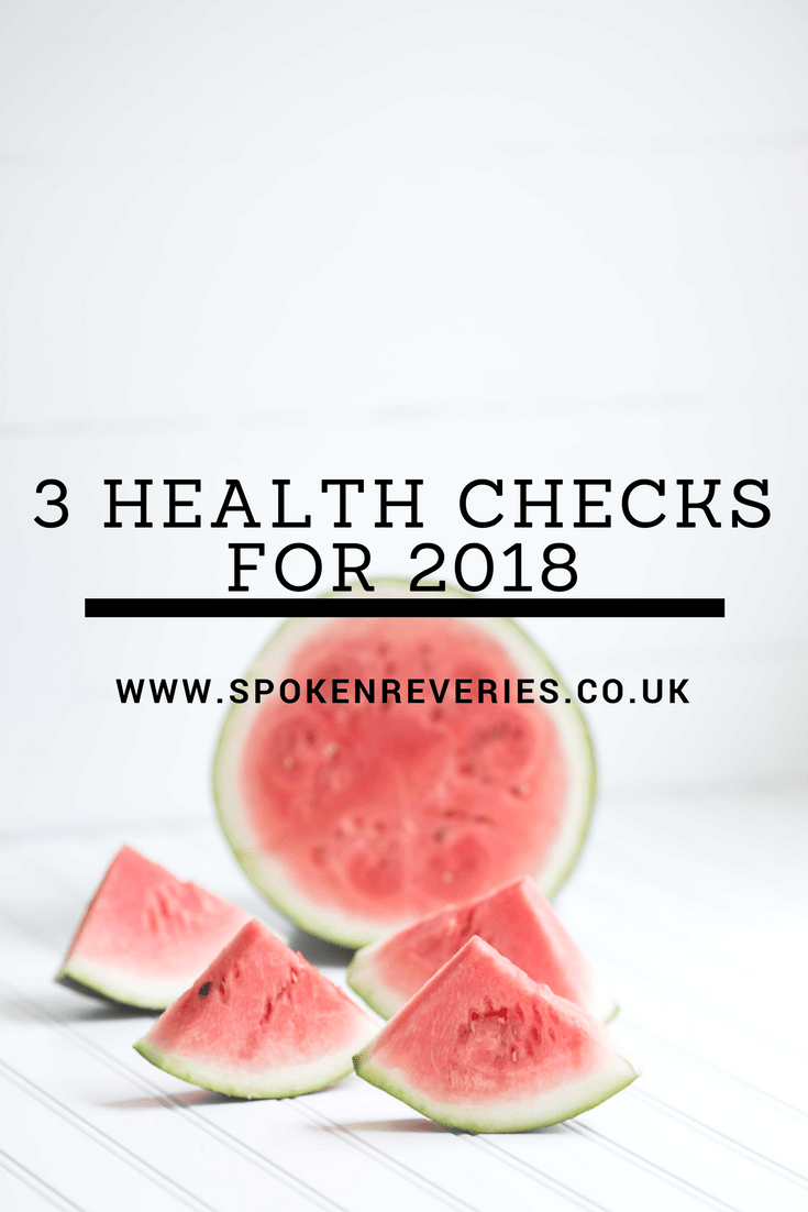 3 Health Checks We Need To Have in 2018