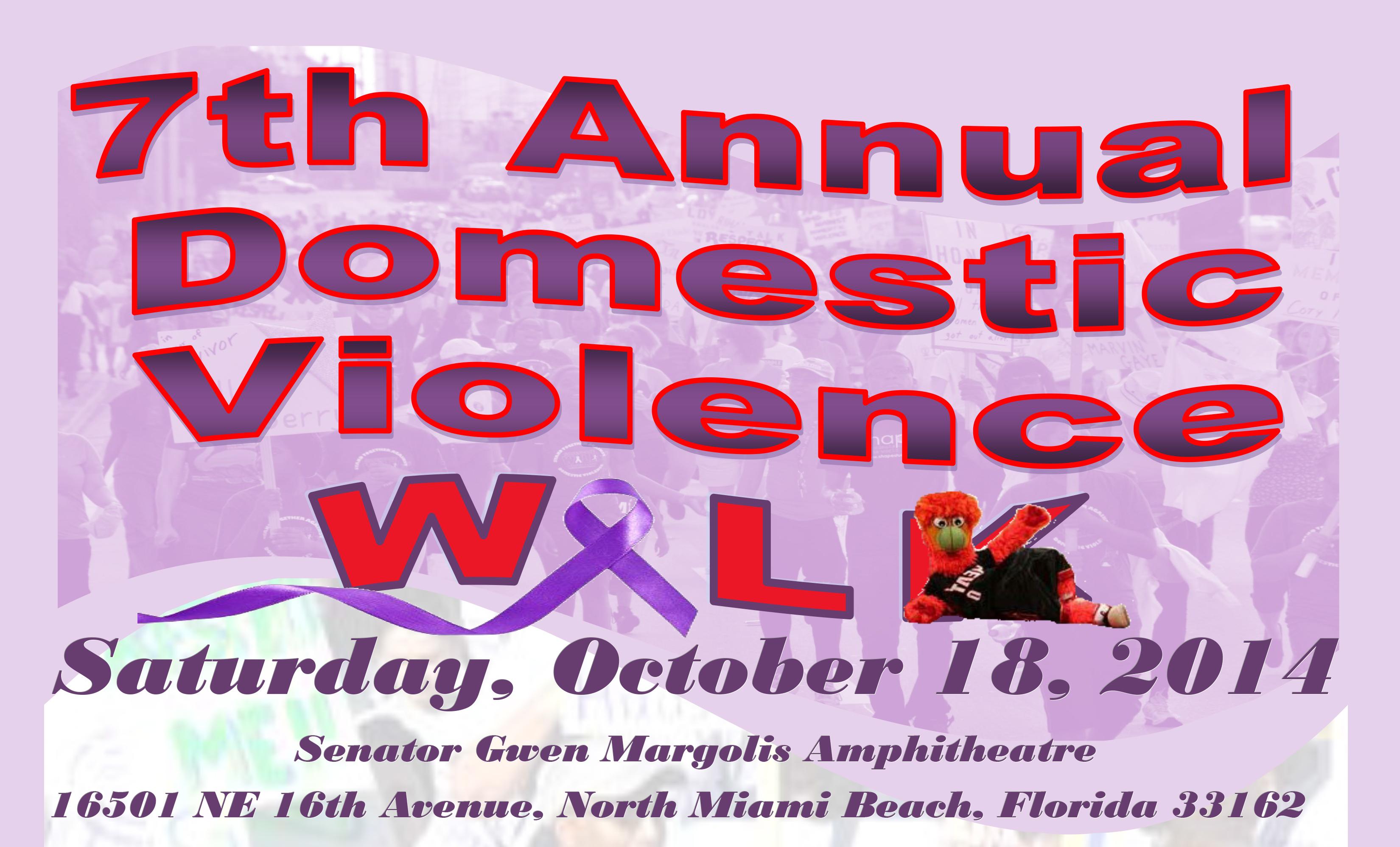7th Annual Domestic Violence Walk