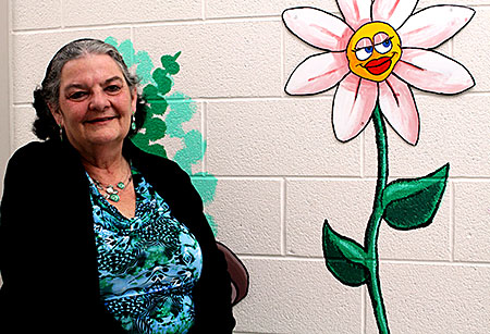 PHOTOBY KRISTIN MILANI    Pat Usher, client service manager at KidsAbility, has been a part of the organization for 38 years. She has dedicated her life to helping children and youths with disabilities.