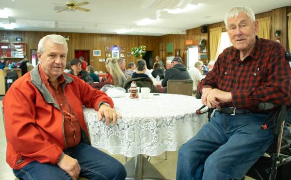 Doug Hayes and Peter Geene