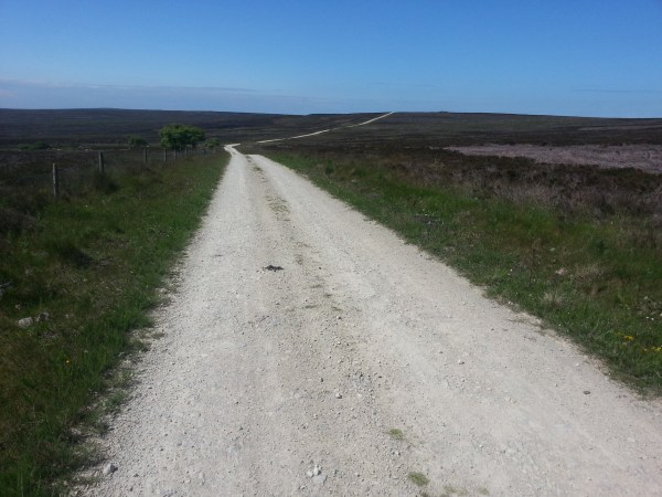 Heading across the Moorland