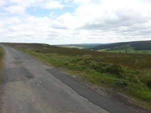 The road up onto Kildale Moor