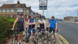 The fearless four in Gt Yarmouth