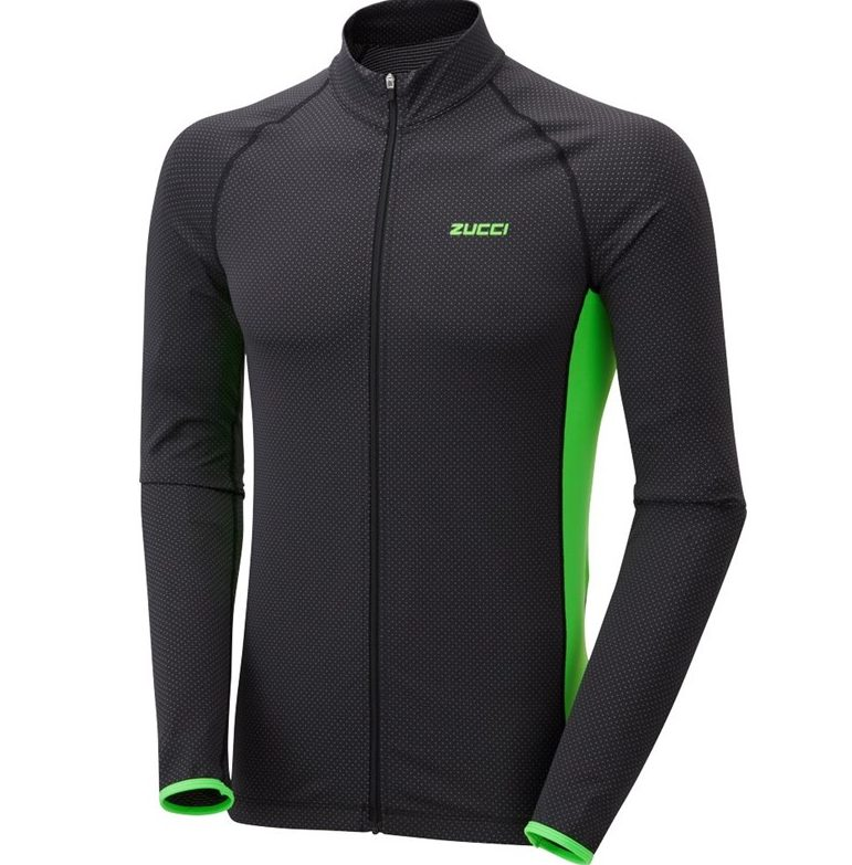 Zucci Elite Full Zip Long Sleeve Jersey – Spoke Revolutions b91ddf256