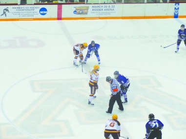 Gophers on ice go for fourth consecutive title
