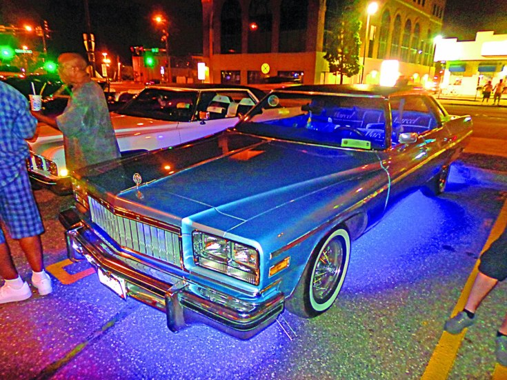 """""""Deuce and a Quarter"""" — the Buick Electra 225, owned by Marcel Thompson"""