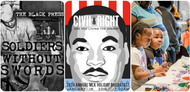 MLK calendar collage