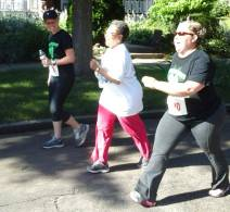 The day's events started with a 5k walk-run.
