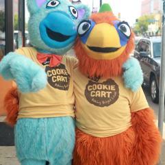 Cookie Cart fun at FLOW, July 30.