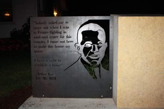 Arthur Lee Memorial on 4600 Columbus Avenue South in Minneapolis.