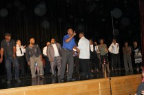 Sounds of Blackness performed in honor of the occasion