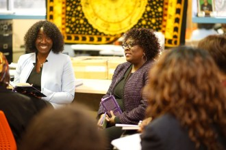 (l-r) Dr. Sylvia Bartley and Dr. Beryl Wingate at one of the Baraza 2017 sessions.