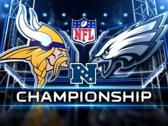 Image result for nfc championship Vikings vs. Eagles