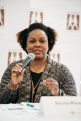 Panelist Renita Wilson of Kente Circle