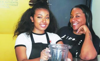 Tierra Armstrong and Sierra Carter