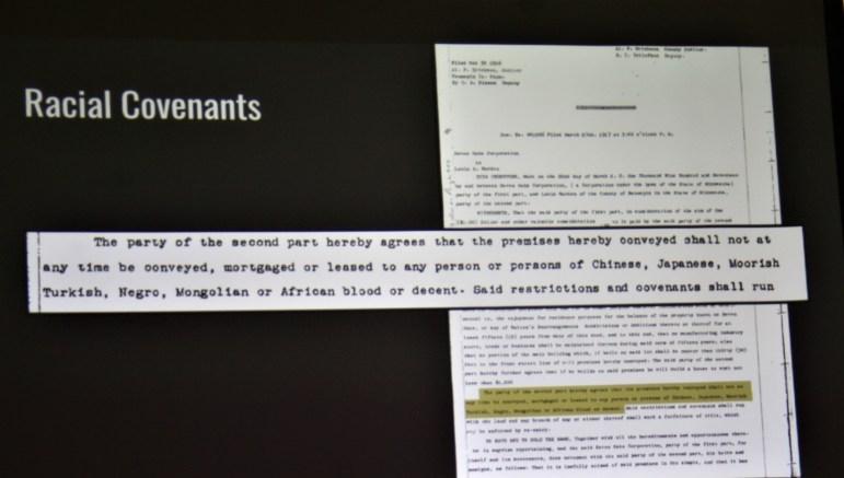 racial covenants