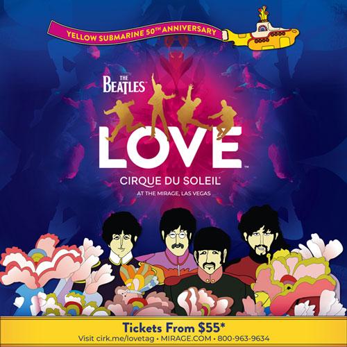 Beatles Love X Yellow Submarine