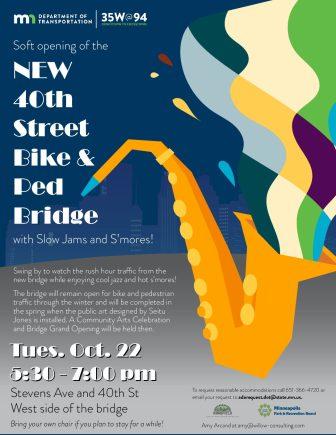 40th Street Pedestrian Bridge Celebration @ 40th Street Bridge
