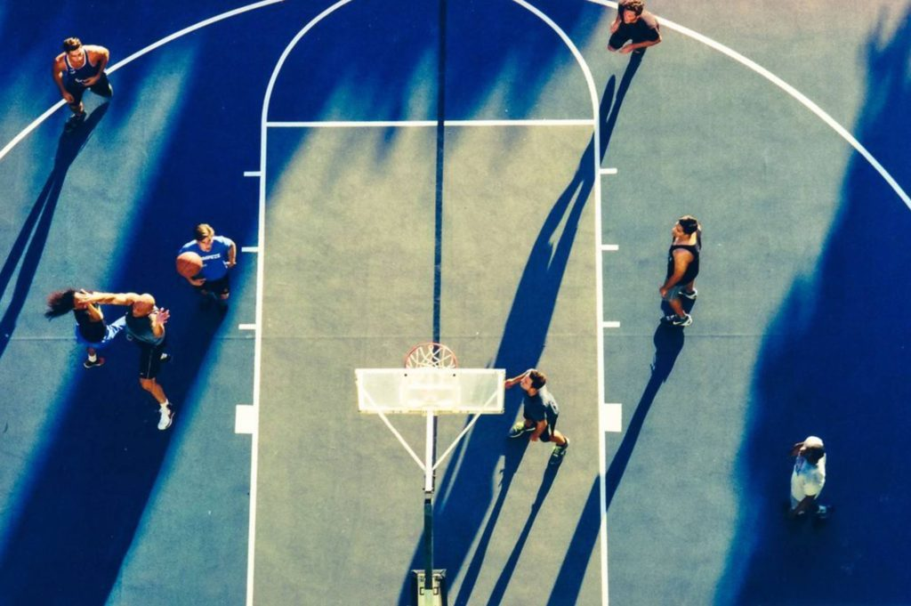 Streetball in Los Angeles • spoly