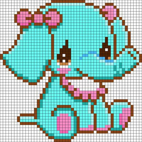 Art Minecraft Star Pixel